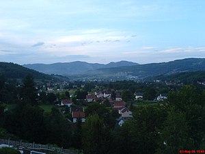 Busovača - Image: Uitzicht op Busovača