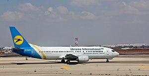 Ukraine International - Boeing 737-400 - Tel Aviv Ben Gurion - UR-GAO-1262.jpg