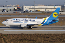 Ukraine International Airlines Boeing 737-500 UR-GAU IST Dec 2013.png