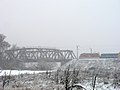 Ukraine Irpen 2010. First snow. Railway Bridge.jpg