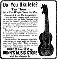 Ukulele Ad for Dunn's Music Store.jpg