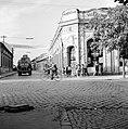 Ulica Tomása Garrigue Masaryka - ulica Zeleznicná sarok. Fortepan 53941.jpg