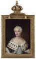 Ulrika Eleonora d.y., 1688-1741, drottning av Sverige, gift med kung Fredrik I - Nationalmuseum - 39214.tif