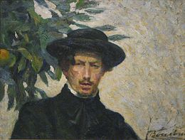 Umberto Boccioni - Self-portrait, oil on canvas, 1905, Metropolitan Museum of Art.jpg