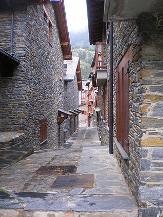 Ransol - Image: Un carrer de Ransol
