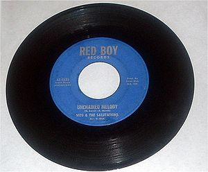 Vito & the Salutations - Unchained Melody on the Red Boy label (originally released on Herald)