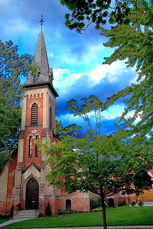 Main Street Unionville - Image: Union Ville Main Street Church