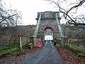 Union Chain Bridge - road closed - geograph.org.uk - 1079302.jpg
