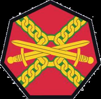 United States Army Installation Management Command - IMCOM Shoulder sleeve insignia