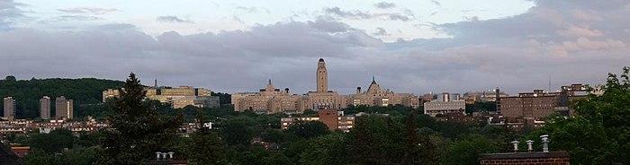 Panoramabild der Université de Montréal