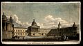 University College, London; the main building. Coloured engr Wellcome V0013662.jpg