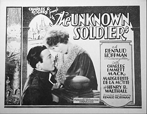 The Unknown Soldier (1926 film) - Lobby card