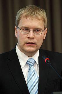 Urmas Paet Estonian politician