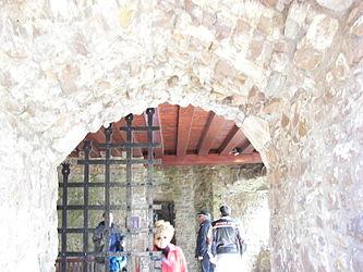 Urquhart Castle arched doorway.jpg