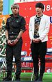 VIXX LR at The Salvation Army Kettle Appeal Opening Ceremony in South Korea, in November 2012 02.jpg