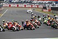 Valentino Rossi leads the pack 2014 Motegi.jpeg