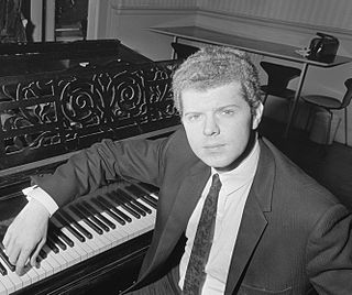 Van Cliburn American pianist