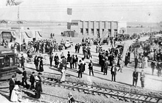 History of the San Fernando Valley - Van Nuys after the arrival of the Pacific Electric Railway 1911