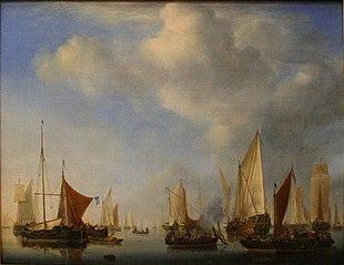A Fleet in a Calm