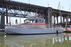 Fireboats of Vancouver - Image: Vancouver Fire Vessel