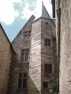 Tour polygonale du Château-Gaillard