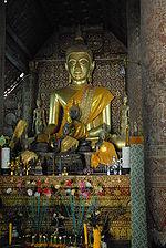 Vat Xieng Thong Bouddha