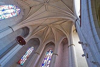 Apse - Image: Vault of choir Notre Dame de la Dalbade Toulouse