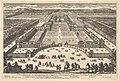 Veüe generale en Perspective du Château Bassecourt, Anticours, Jardins, &c. de Richelieu MET DP829051.jpg