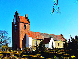 Vejby, Gribskov Municipality - Image: Vejby kirke (Gribskov)