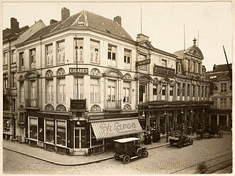 Tobacconist - Tobacconist in Ghent, Belgium.