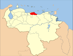 Venezuela Miranda State Location.svg