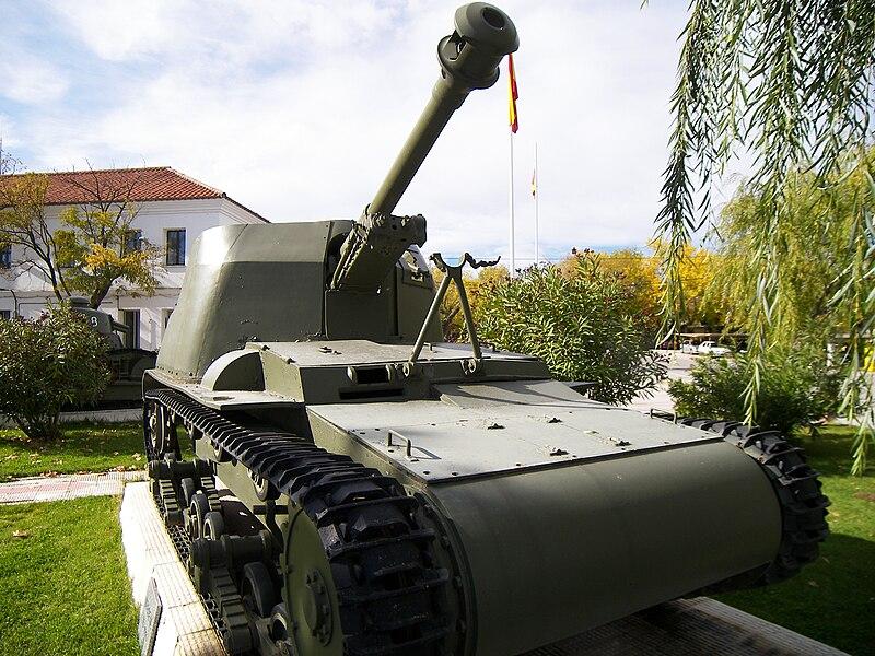 Лёгкий танк Вердеха (Verdeja). Испания