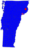 Vermont Senatorial Election Results by municipality, 2006.png