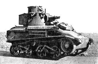 Light Tank Mk VI - Image: Vickers Light Tank Mark VI