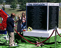 Victims of the Terrorist Attack on the Pentagon Memorial - children view prior to funeral - Arlington National Cemetery - 2002-09-12.jpg