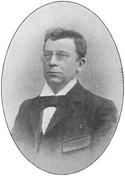 Victor Albert Faassen - Onze Tooneelspelers (1899)