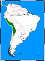 Vicugna vicugna range map.png