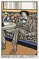 Viennese Café- The Man of Letters (Wiener Café- Der Litterat) (1911) print in high resolution by Moriz Jung. Original from the MET Museum. Digitally enhanced by rawpixel.jpg
