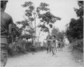 Vietnam....Members of the 3rd Battalion, 187th Infantry, 101st Airborne Division (Airmobile), join the children of Ap... - NARA - 531465.tif