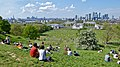 View across Greenwich Park to Canary Wharf.jpg