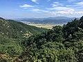 View from Namsan, Gyeongju (northeast).jpg