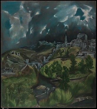 View of Toledo - Image: View of Toledo MET DP349564