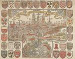 File:View on Ghent by Pieter de Keysere in 1524 version Museum Rotterdam.jpg