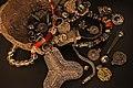 "Vikings Treasure hoard Färgelanda Sweden - 25927698555 Swedish History Museum (Historiska museet) MuseumsPartner exhibition ""Vikings Beyond the legend"" Australian National Maritime Museum Sydney 2013.jpg"