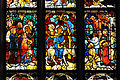 Viktring Stiftskirche Glasmalereien mittleres Fenster Jesu Einzug in Jerusalem 07052011 113.jpg