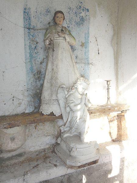 Villers-sur-Meuse (Meuse) oratoire, intérieur