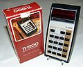 Vintage Texas Instruments Model 1200 Pocket LED Calculator, Made in Hong Kong, Circa 1975 (9271705004).jpg