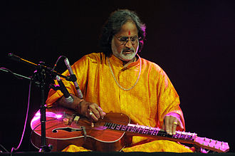 Vishwa Mohan Bhatt - V.M.Bhatt performing in Warsaw, September 2009