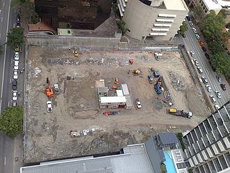 Vision Brisbane - Image: Vision Brisbane construction