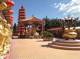 Ten Thousand Buddhas Monastery - Image: Vision of the Main Plaza